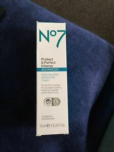 NO 7 PROTECT AND PERFECT INTENSE ADVANCED HAND AND NAIL CREAM 75ML