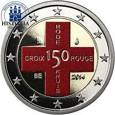 Bi-Metall polierte platte nach Euro-Einführung Münzen aus Belgien
