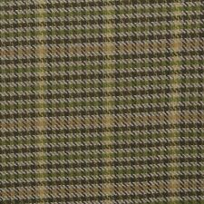 """DESIGNER WOODSTOCK GRASS GREEN WOVEN PLAID CHECK MULTIUSE FABRIC BY YARD 54""""W"""