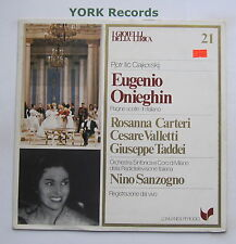 GML 21 - TCHAIKOVSKY - Eugenio Onieghin highlights CARTERI - Ex Con LP Record