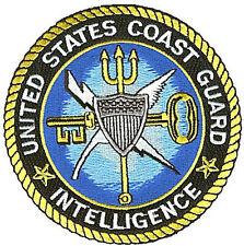 "4.5"" Intelligence Is W4616 Uscg Coast Guard patch"