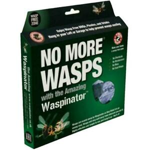 Waspinator No More Wasp Insect Repeller, Fake Nest, Safe & No Chemicals - 2 Pack