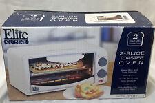 New ListingElite Cuisine 2 Slice Toaster Over