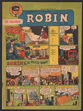 LA REVISTA DE ROBIN # 103 1952 - RARE Argentine Printed COMIC (Robin and Batman)