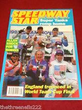 SPEEDWAY STAR - SUPER YANKS ROMP HOME - SEPT 25 1993