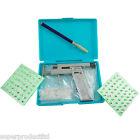Ear Body PIERCING GUN PIERCE Mirror Marker Pen Tool Kit Set  98 Pcs Studs