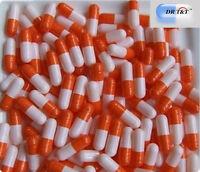 10000 Capsules de Gélatine vides - taille 0 - couleur blanc et orange