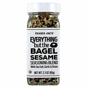 2- Trader Joe's Everything But The Bagel Sesame Seasoning