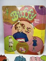 Paper Dolls 1969 Whitman Buffy Cut-Outs Vintage Made in USA