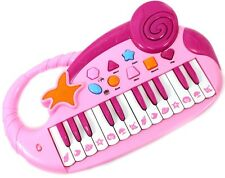 Musical Fun Electronic Piano Keyboard For Kids With Record & Playback Pink