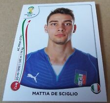 PANINI STICKER - FIFA - WORLD CUP 2014 - No 324 - MATTIA DE SCIGLIO - ITALY