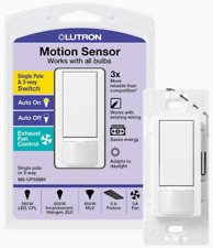 Lutron MAIN-54583 White Maestro Sensor Switch (Single or 3-way) | MS-OPS5MH-WH