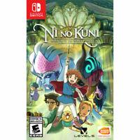 Ni No Kuni: Wrath of The White Witch (Nintendo Switch, 2019) Brand New!