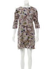 NWT Marni 100% Silk Floral Print Mini Dress Sz M 42 Made in Italy Beautiful!