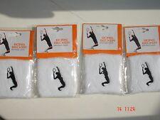 Boris Becker 3 Long Wrist Sweatbands Tennis Badminton Gym Workout Sport Cotton