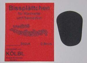 Bißplättchen Bissplättchen Klarinette&Sax. 0,8 mm Bissplatte Kölbl