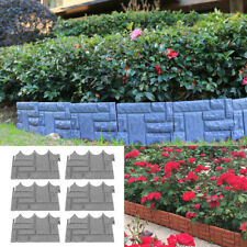 Garden Lawn Fence Outdoor Landscape Fencing Flower Barrier Border Edging Decor
