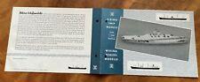 Rarität: Wiking Modell Katalog 1:1250 von 1961