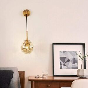 Nordic Creative Modern Bedroom Bedside Lamp Metal Flower String Art Art Aisle