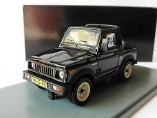 SUZUKI SJ 410 BLACK 1985 NEO 44032 1/43 NOIR NOIRE SCHWARZ LHD LEFT HAND DRIVE