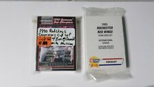 1990 1993  ROCHESTER RED WINGS  MIKE MUSSINA RC, SCHILLING 3  complete sets!