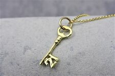"9ct (375) Solid 3D Yellow gold charm ""21 Key"""