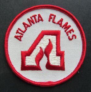 "1970s Vintage National Hockey League Atlanta Flames Hockey Jersey Patch 3"" Crest"