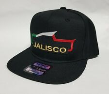 JALISCO   MEXICO  HAT BLACK   SNAP BACK ADJUSTABLE  NEW