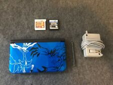 Nintendo 3DS XL Limited Edition X and Y with Charger and 2 Pokemon Games