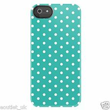 Uncommon Custodia / COVER MINI PUNTINI Teal DEFLECTOR GUSCIO RIGIDO per iPhone 5 / 5S / SE