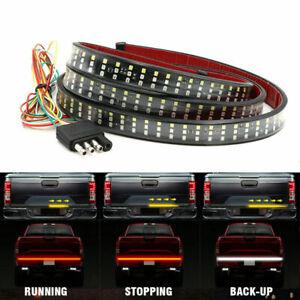 "48""Truck Tailgate LED Light Bar Brake Reverse Turn Signal Stop Tail Strip 2021"