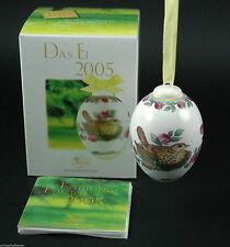 Hutschenreuther Porzellan Das Ei Osterei 2005 mit Verpackung NEU 1.Wahl