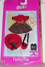 MATTEL Barbie1997 SISTER STACIE FEELING FUN PARTY DRESS CLOTHES NIP #68648