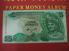RM5 Ahmad Don sign 7th series CBN - QU 9908858 (UNC)