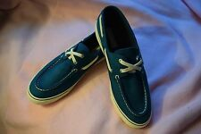 New 's Womens Size 10 Sperry Biscayne Top-Sider Slip on Boat Shoes Teal $59.99