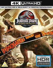 Jurassic Park Trilogy Collection 4k Ultra HD Region B Blu-ray Digital