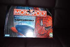 SPIDER-MAN MARVEL MONOPOLY GAME BY PARKER BROS COMPLETE SET CARDS,TOKENS,MONEY