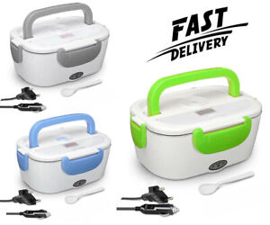 Electric Lunch Box 220V./24V Portable Heated Car Homeasy Food Heating For Travel