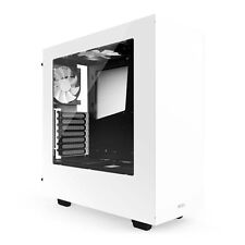 NZXT S340 White Mid Tower Gaming Case - CA-S340W-W1