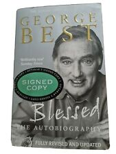 More details for george best signed autobiography 'blessed' - genuine autograph