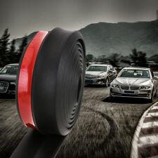 2,5m Spoilerlippe Universal Frontspoiler für Auto Schweller Gummilippe für Seite