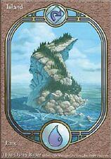 Ile Unglued -Island - île - Textless - Magic mtg - Fine