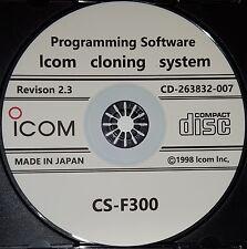 New listing Icom Cs-F300 Programming Software for Icom Ic-F310 Ic-F320 Ic-F410 Ic-F420
