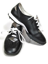 NIKE Lady Air Summer Lace Ladies 5 Golf Shoes Black White