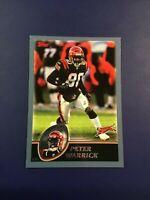 2003 Topps # 264 PETER WARRICK Cincinnati Bengals Sharp LOOK !