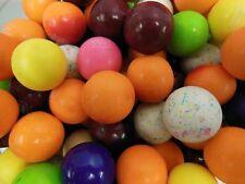 """10 Flavor Mix  Dubble Bubble Gum Ball 1""""  2 lb 907g about 110 gumballs"""
