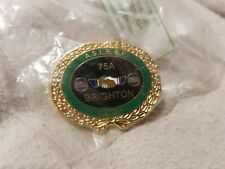 More details for aslef train drivers commerative pin badge brighton depot. #028