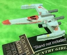 Star Wars Micro Machines Rebel T-65 X-Wing Fighter BattLe Damage Red Squadron