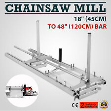 """2017 NEW Portable Chainsaw mill 48 Inch Planking Milling Bar Size 18"""" to 48"""""""