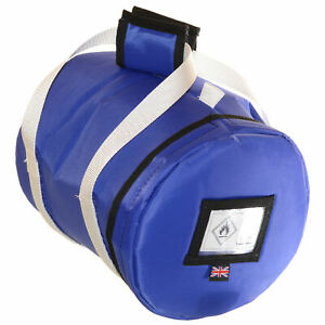 Padded Carry and Storage Bag for Camping Gaz gas 907 Cylinders Marine Boat Camp